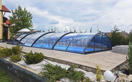 Павильон раздвижной для бассейна Alukov Azure Light