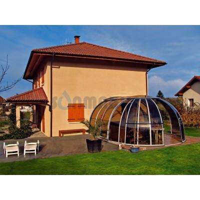 Павильон раздвижной для СПА Alukov Oasis Grand