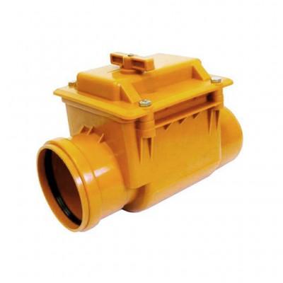 Клапан обратный канализационный 110 BIPLAST