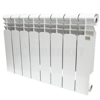 Биметаллический радиатор STI 350 80 10 секций