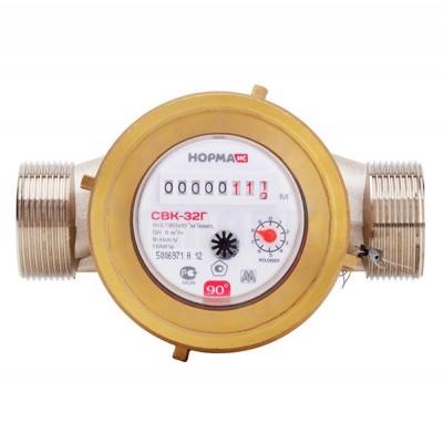 Счетчик воды универсальный Норма СВК-32 Г компл.