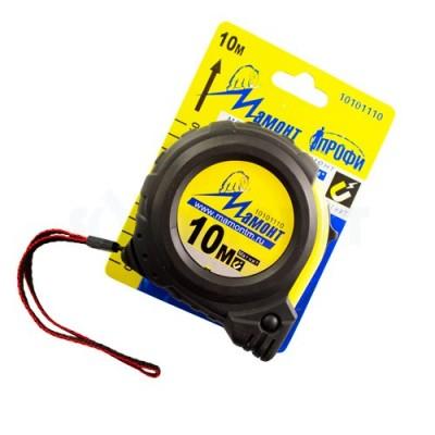 Рулетка Мамонт 10м*25мм магн.
