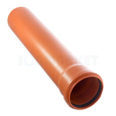 Труба наружная 200х1,0м Политэк (5,2мм)