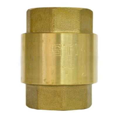 Клапан обратный пружинный STI 25 (пластиковое уплотнение)