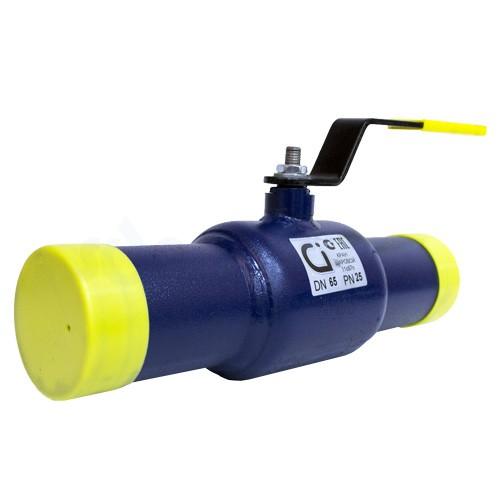 Кран шаровой Ci 11с67п под приварку 65 (PN25)