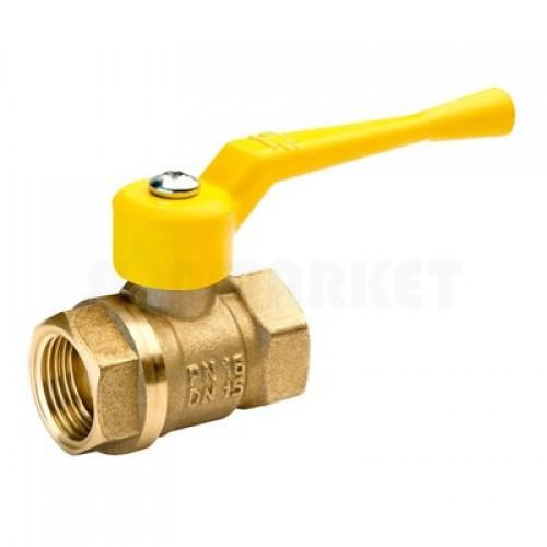 Кран шаровой газовый БАЗ 11б27п ГГ рычаг 20 (А10)