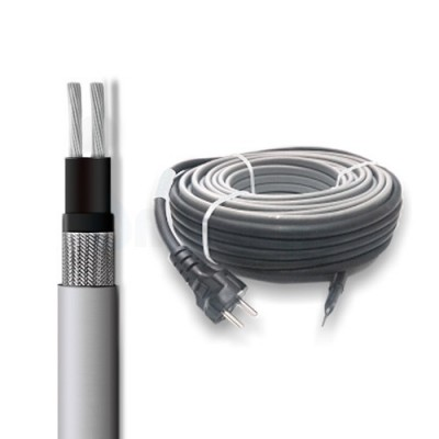 Саморегулирующийся кабель SRL 16-2CR на трубу 5м (комплект)