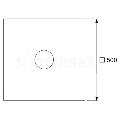 Гидроизоляционная манжета из EPDM TECEdrainpoint S