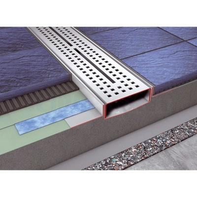 Слив для душа прямой с гидроизоляцией Seal System 700мм TECEdrainline