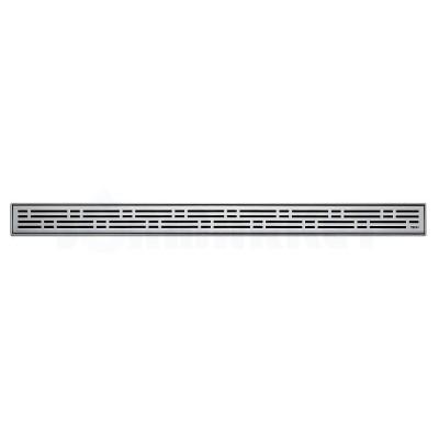 """Решётка """"basic"""" для душевого слива нержавеющая сталь матовая прямая 700мм TECEdrainline"""