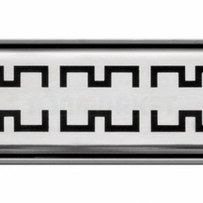 """Решётка """"royal"""" для душевого слива нержавеющая сталь матовая прямая 700мм TECEdrainline"""