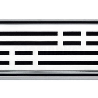 """Решётка """"basic"""" для душевого слива нержавеющая сталь полированная прямая 800мм TECEdrainline"""