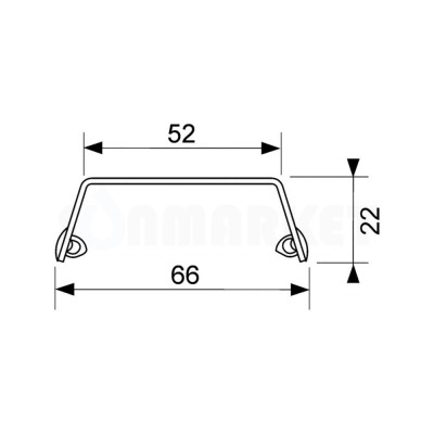 """Панель """"steel II"""" для душевого слива нержавеющая сталь, полированная, прямая 800мм TECEdrainline"""