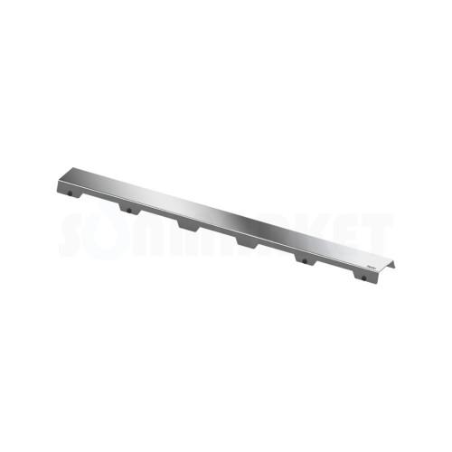 """Панель """"steel II"""" для душевого слива нержавеющая сталь, полированная, прямая 900мм TECEdrainline"""
