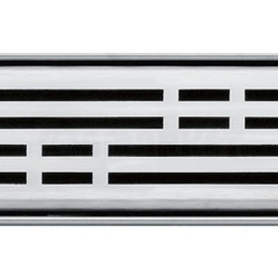 """Решётка """"basic"""" для душевого слива нержавеющая сталь матовая прямая 1000мм TECEdrainline"""