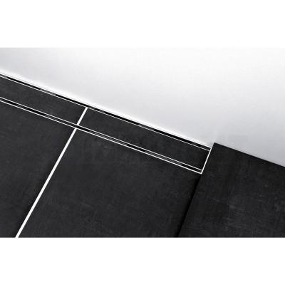 """Основа для плитки """"plate II"""" для душевого слива нержавеющая сталь, прямая 1000мм TECEdrainline"""