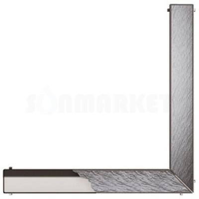 """Основа для плитки """"plate"""" для душевого слива нержавеющая сталь, угловая 1000 х 1000мм TECEdrainline"""