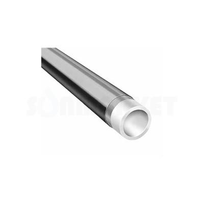 Труба PE-Xc/EVOH серебристая Дн 18 х 2.0 Ру 10 бар Тмакс 95С бухта 200м TECEflex