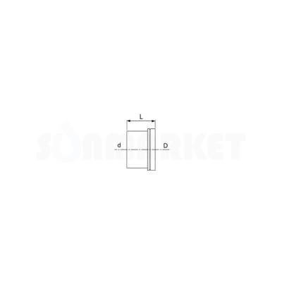 Кольцо натяжное никелированное для PE-Xc латунь 18 TECEflex