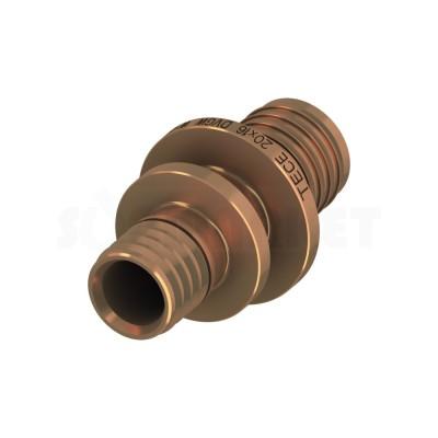 Муфта для PE-X редукционная бронза Дн 50 х 40 TECEflex