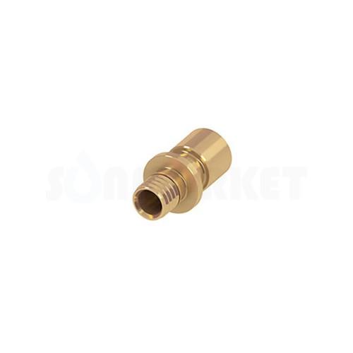 Переходник с PE-X на медные/стальные трубы латунь Дн 32 х (Дв)28мм х (Дн)32мм TECEflex