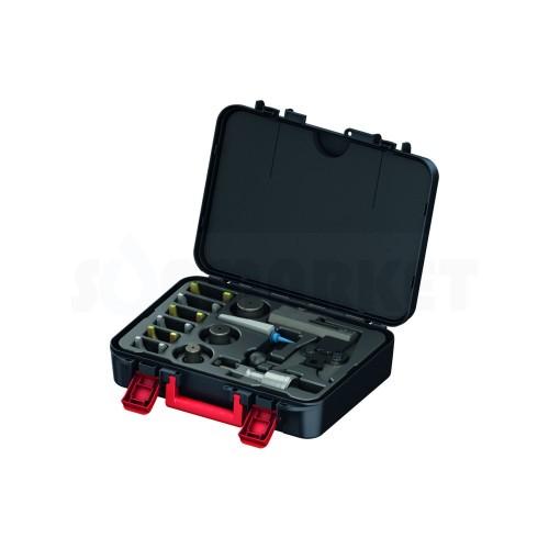 Комплект инструмента для расширения и запрессовки аксиальных соединений диаметром 40-63 TECE
