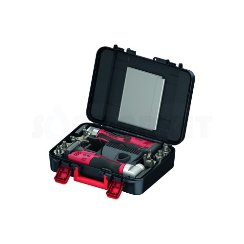 Комплект инструментов для запресовки аксиальных соединений PE-X аккумуляторный RazFaz для диаметров 14-32 TECE
