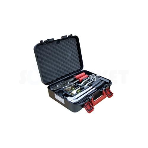 Комплект инструментов для расширения и запрессовки аксиальных соединений PE-X для диаметров 16-32 TECEflex