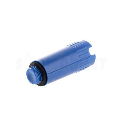"""Заглушка тестовая для опрессовки синяя пластиковая НР R 1/2"""" TECE"""