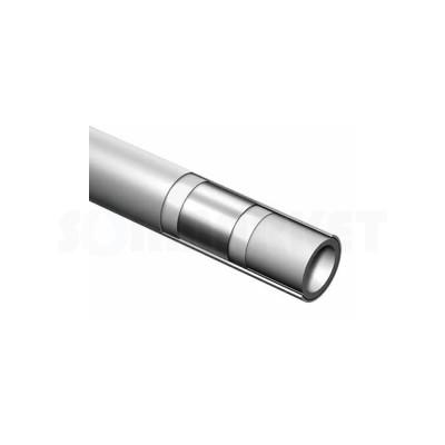 Труба композитная PE-Xc/Al/PE-RT универсальная белая Дн 50 х 4.5 Ру 10 бар Тмакс 90С штанга 5м TECEflex