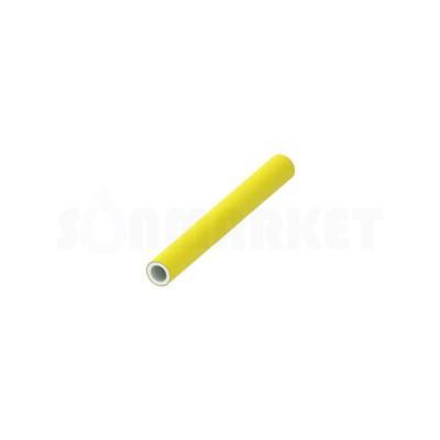 Труба металлопластиковая PE-Xc/Al/PE-RT для газоснабжения жёлтая Дн 63 х 6.0 Ру 10 бар Тмакс 90С штанга 5м TECEflex