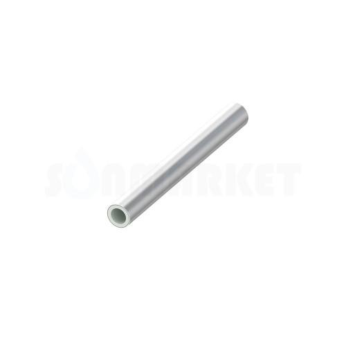 Труба  для тёплого пола серебристая SLQ PE-RT тип2 Дн 16 х 2.0 Ру 8 бар Тмакс 90С бухта 600м TECEfloor