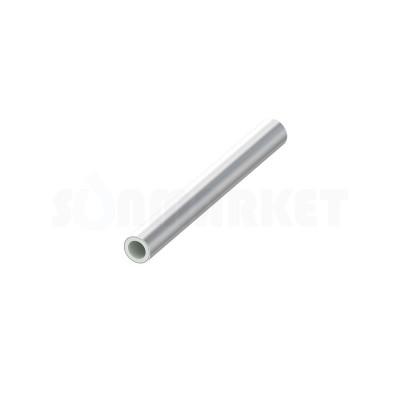 Труба SLQ PE-RT тип2 для тёплого пола серебристая Дн 20 х 2.0 Ру 8 бар Тмакс 90С бухта 300м TECEfloor