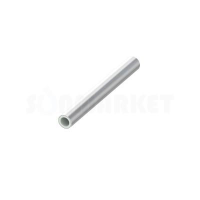 Труба SLQ PE-RT/Al/PE-RT для тёплого пола серебристая Дн 16 х 2.0 Ру 6 бар Тмакс 70С бухта 120м TECEfloor