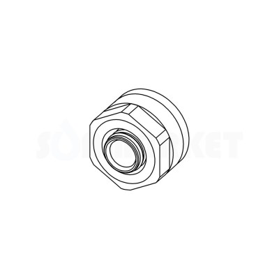 """Евроконус для труб PE-X/Al Дн 16 х 3/4"""" TECEfloor"""