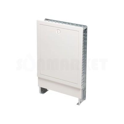 Шкаф коллекторный встраиваемый сталь белый тип 530 Ш х В 530 х 790 2-3 контура TECEfloor
