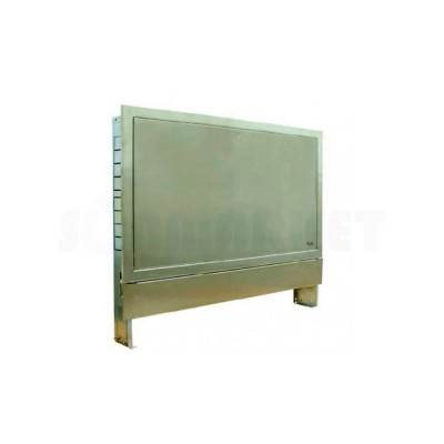 Шкаф коллекторный встраиваемый нержавеющая сталь тип 450 Ш х В 450 х 790 2 контура TECEfloor