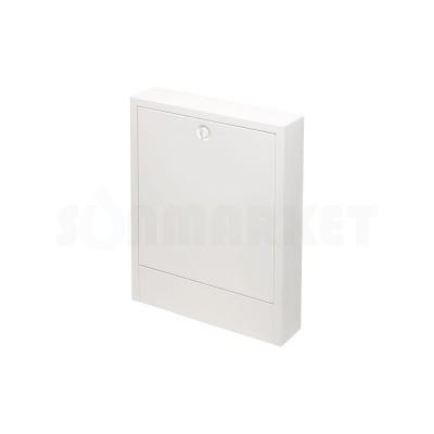 Шкаф коллекторный наружный сталь белый тип 530 Ш х В 530 х 640 2-3 контура TECEfloor
