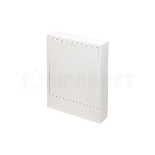 Шкаф коллекторный наружный сталь белый тип 680 Ш х В 680 х 640 2-5 контуров TECEfloor
