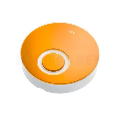Панель дизайнерская для комнатного термостата DT стекло оранжевое TECE