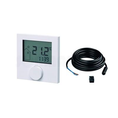 Термостат комнатный беспроводной с ЖК-дисплеем RTF-D в комплекте с датчиком температуры пола TECEfloor