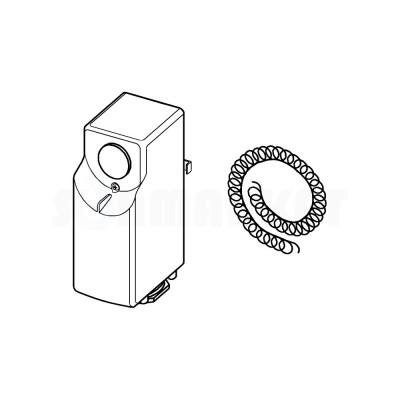 Накладной термостат 0-60С TECE