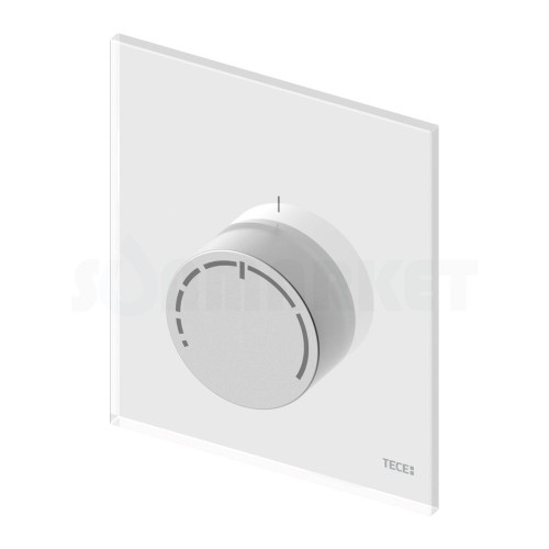Лицевая панель для узла регулировки отопления RTL box стекло белое TECEfloor