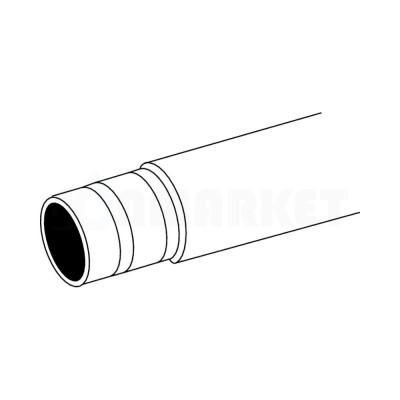 Труба металлопластиковая PE-RTII/Al/PE-RTII белая Дн 20 х 2.25 Ру 6 бар Тмакс 90С бухта 100м TECElogo