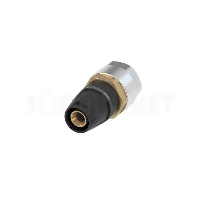 Муфта для Push-fit переходная на медную/стальную трубу латунь Дн 20 х 15 TECEflex