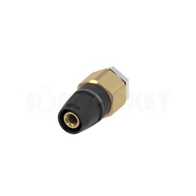 Заглушка для Push-fit для проверки системы под давлением с воздухоотводчиком латунная Дн 16 TECElogo