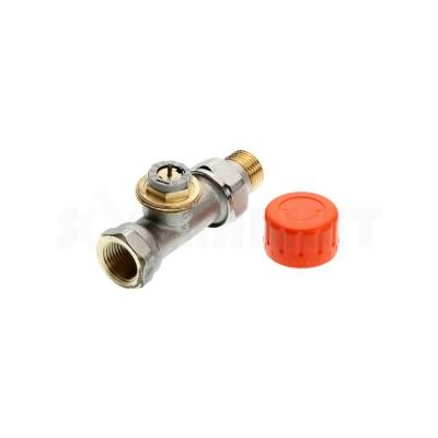 """Термостатический клапан радиаторный проходной с предварительной настройкой Дн R 1/2"""" х Rp 1/2"""" TECE"""