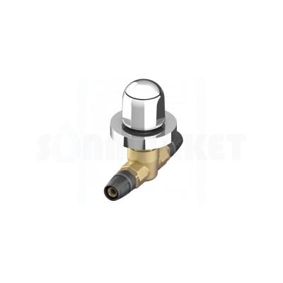 Кран шаровой проходной Push-fit латунь с декоративной рукояткой Дн 20 х 20 TECElogo