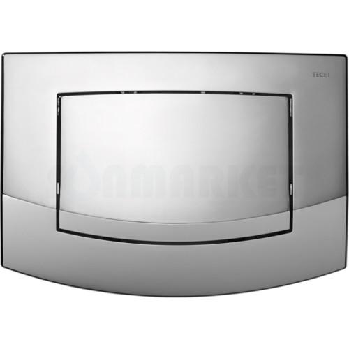 Кнопка смыва для инсталляции с одной клавишей TECEambia, хром глянцевый