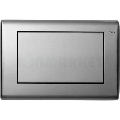Кнопка смыва для инсталляции с одной клавишей TECEplanus, нержавеющая сталь, сатин